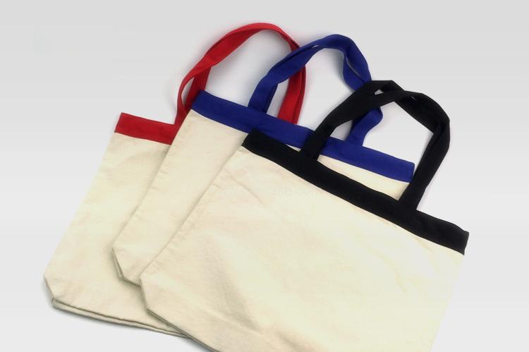 雙色棉布袋,購物袋,環保袋