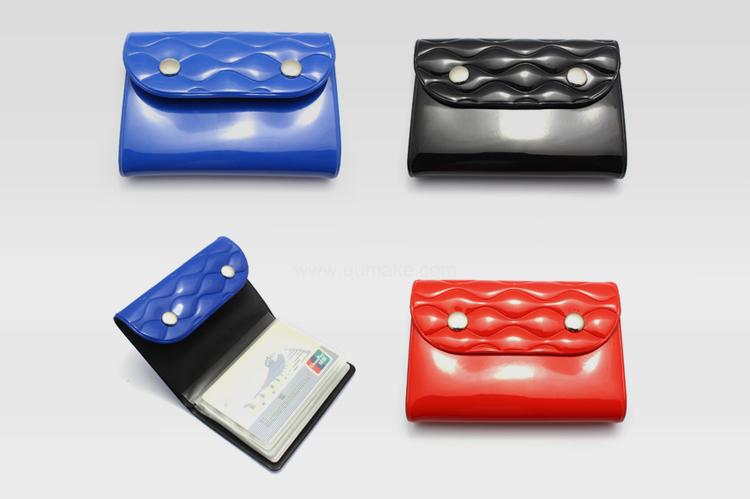 金屬扣吉片袋,PVC卡片包
