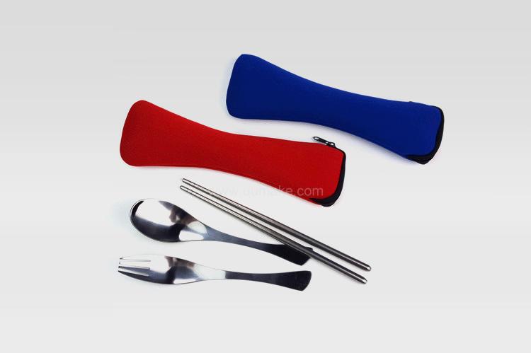 不鏽鋼餐具三件套,旅行用品