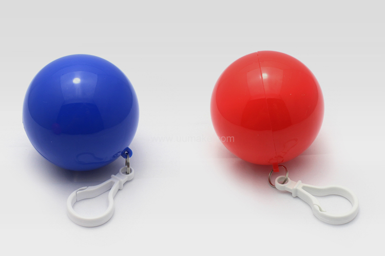 便携式球形雨衣,異形收納雨衣