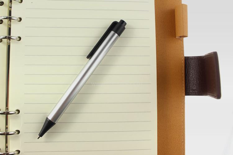 高檔商務活頁簿,PU筆記簿,記事本,書寫,辦公文具