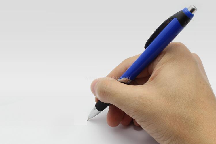 廣告走珠筆,手按直桿原子筆,辦公並文具,塑膠圓珠筆