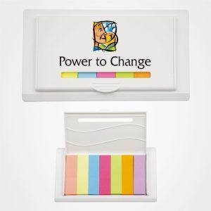 七色便簽盒,便簽簿,即時貼,告示貼,記事貼