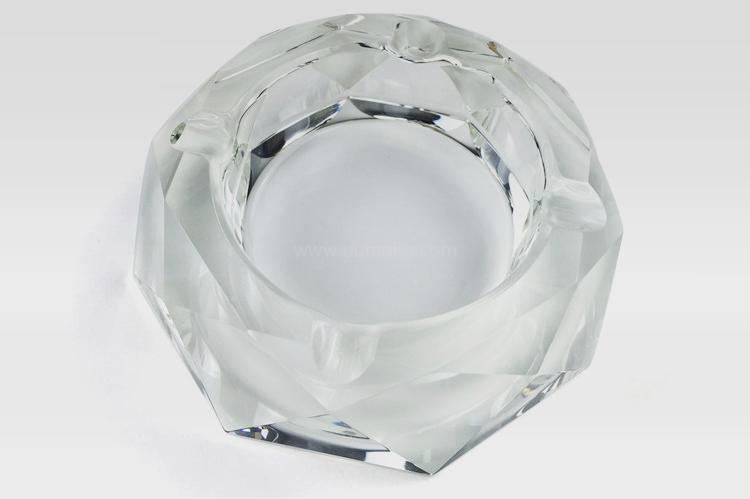 水晶煙灰缸,禮品定制,八角煙灰缸