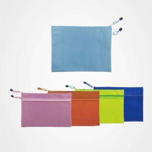 廣告儲物袋,文件袋,拉鏈包,禮品定制,A5雙層收納袋
