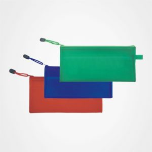 廣告儲物袋,文件袋,拉鏈包,辦公文具,禮品定制,A6磨砂夾網收納袋