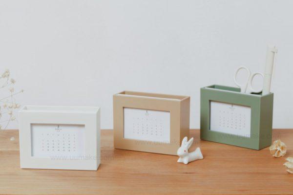 儲物盒,桌面擺件,臺歷,年曆,日曆,文具套裝,辦公文具,Desk-calendar,訂造,定做,批發,多功能收納盒